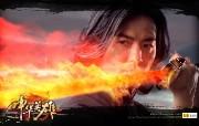 中华英雄 郑伊健代言壁纸 壁纸7 《中华英雄》郑伊健代 游戏壁纸