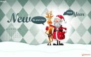 圣诞节月历 圣诞主题设计月历 1920 1200 2009年12月圣诞节月历壁纸 月历壁纸