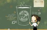 9月月历壁纸 Haru 9月份插画月历 2009年9月月历壁纸 月历壁纸