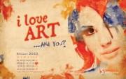 2010年2月份情人节月历 壁纸 情人节插画 2月份情人节月历 壁纸 2010年2月份情人节主题月历 月历壁纸