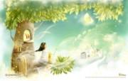 2010年3月韩国插画月历 2010年3月份月历壁纸 月历壁纸