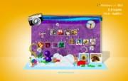 Windows Live2010新年壁纸 WindowsLive月历壁纸 月历壁纸