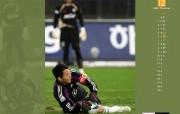 12月月历 足球桌面壁纸 YAHOO韩国十二月月历壁纸 月历壁纸