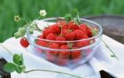 极度诱人的草莓壁纸 植物壁纸