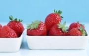 美味草莓壁纸 美味草莓壁纸 植物壁纸