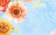 梦幻CG背景花卉宽屏壁纸 植物壁纸
