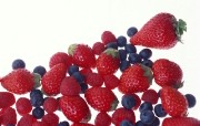 鲜鲜草莓壁纸 鲜鲜草莓壁纸 植物壁纸